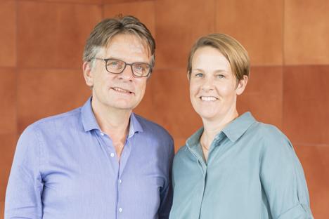 Arne Daniels und Stefanie Hellge übernehmen ab Oktober die neu geschaffene Position des Blattmachers beim Stern/ Foto: Axel Kirchhof