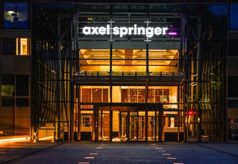Die Beteiligung von KKR soll Axel Springer finanzielle Mittel geben, um in das Digitalgeschäft zu investieren und möglicherweise auch zuzukaufen/ Foto: Axel Springer SE