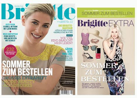 brigitte erscheint mit heft sommer zum bestellen