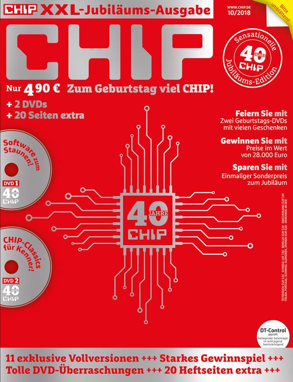 40 Jahre Chip Jubiläumsausgabe Zum Aktionspreis