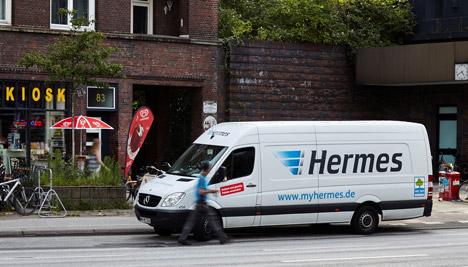 hermes will ab 2018 elektrotransporter einsetzen. Black Bedroom Furniture Sets. Home Design Ideas