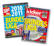 kicker und sport bild anpfiff f r neue fu ball. Black Bedroom Furniture Sets. Home Design Ideas