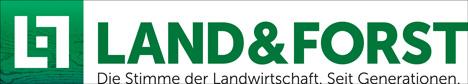 Der neue Markenauftritt von Land & Forst; Foto: dlv