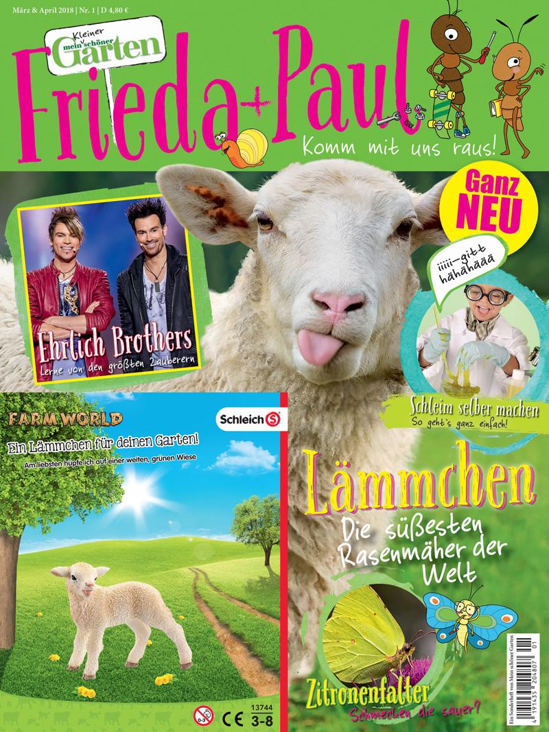 Burda startet Gartenmagazin für Kinder