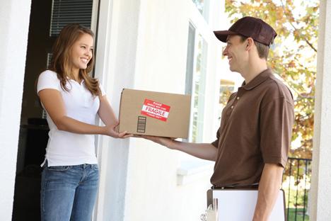Wenn die Paketzustellung an die Haustür nicht mehr Standard wäre, wäre jeder zweite Befragte bereit, einen Aufpreis dafürzu zahlen. Foto:  Stephen Coburn - fotolia by adobe