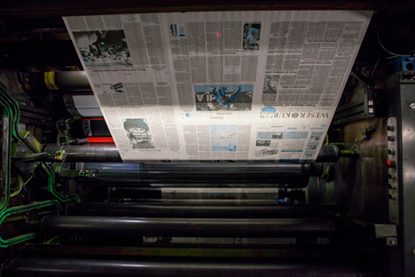 Der Weser-Kurier und seine Schwestertitel werden künftig vom Druckhaus Delmenhorst gedruckt. Die eigene Druckerei wird geschlossen. Foto: Weser-Kurier
