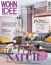 wohnidee erscheint mit 60 seitigem extra zum wohnidee haus. Black Bedroom Furniture Sets. Home Design Ideas