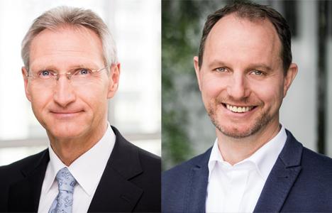 Sehen noch Anpassungsbedarf bei der Höhe der Zustellförderung: BDZV-Hauptgeschäftsführer Dietmar Wolff (l.) und BVDA-Geschäftsführer Dr. Jörg Eggers/ Fotos: BDZV, Bernd Brundert