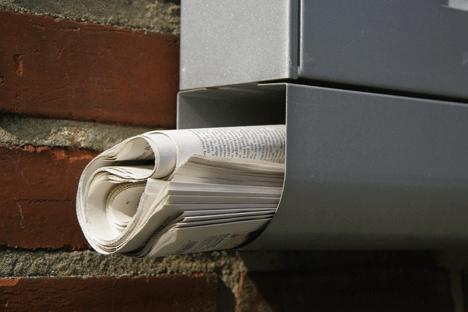 In Zeiten rückläufiger Auflagen und steigender Lohnkosten wird die Zeitungszustellung zu einem immer größeren Kostenfaktor. Foto: Famousonedesign/ Fotolia