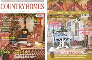 Landhaus Magazin ipm magazin verlag erhöht frequenz country homes und landhaus living
