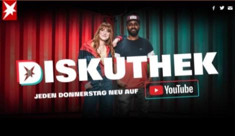 """Gruner + Jahr zeigt sich zufrieden mit der Entwicklung des YouTube-Debattenformats """"Diskuthek""""/ Foto: Screenshot"""